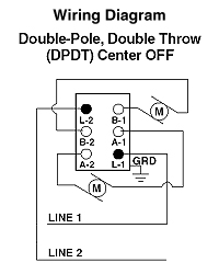 5686-2I2  Amp Pole Double Throw Switch Wiring Diagram on