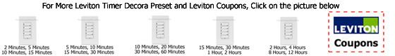 Leviton Timer LTB series