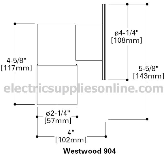 Lumiere Westwood 904 2 50mr16 Ncp 50w Halogen Up Down 2