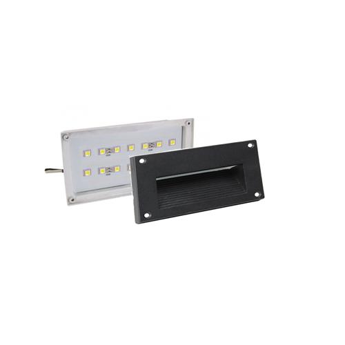 Lighting Supplies Online: Orbit 7152C Series Square Step Light Face Plates