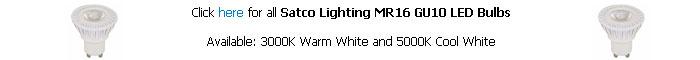Satco MR16 GU10 LED Bulb
