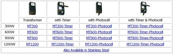 Technomagnet Multi Tap Low Voltage Transformer