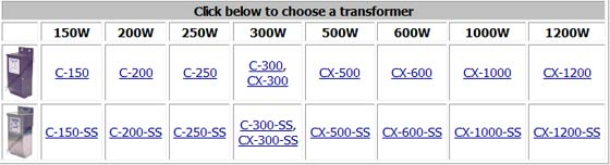 Technomagnet Low Voltage Transformer