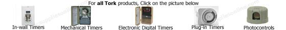 Tork Timer and Photocontrol Products