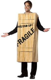 A Christmas Story Wooden Crate Costume