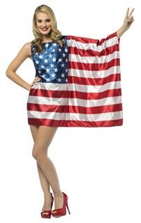 Adult American Flag Dress