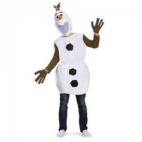 Adult Deluxe Olaf Costume