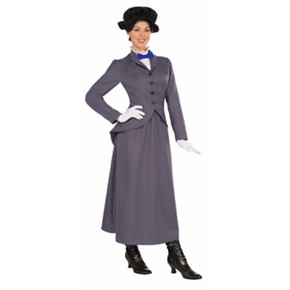 Adult English Nanny Costume