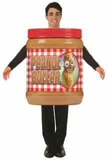 Adult Peanut Butter Costume