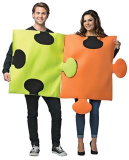 Adult Puzzle Pieces Costume