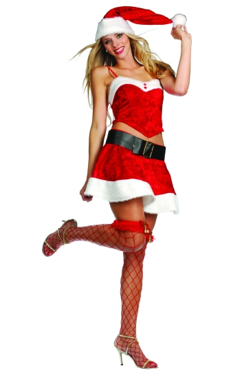 Ms santa claus costume sexy