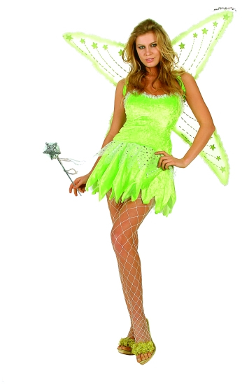 Adult Sexy Pixie Costume with Wings