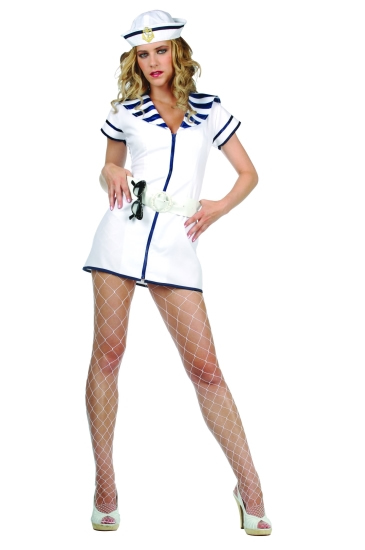 Adult Sexy Vintage Navy Costume  sc 1 st  Fantasy Toyland & Adult Sexy Vintage Navy Costume Sexy Sailor Costumes
