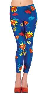 Adult Supergirl Leggings