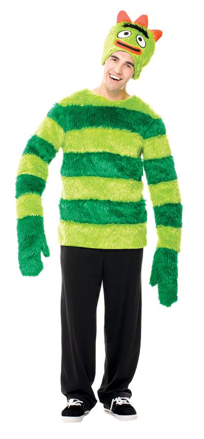 Adult Yo Gabba Gabba Brobee Male Costume