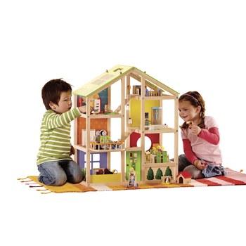 All Season Dollhouse - Furnished