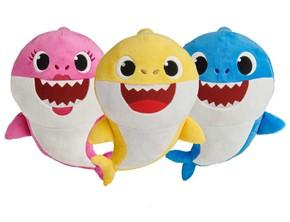 Baby Shark Plush Doll Set - Baby, Mommy, Daddy