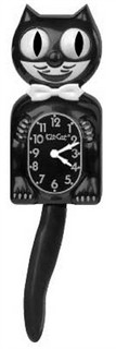 Kit-Cat Clock - Black