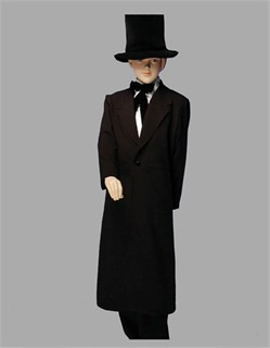 Child Abraham Lincoln Costume : abe lincoln costume for kids  - Germanpascual.Com