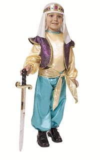 Child Arabian Sultan Costume