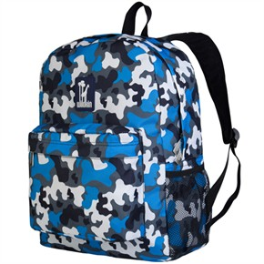 Child Backpack - Blue Camo