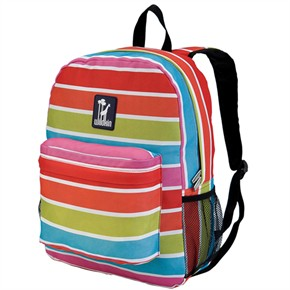 Child Backpack - Bright Stripes