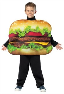 Child Cheeseburger Costume - Size 7-10