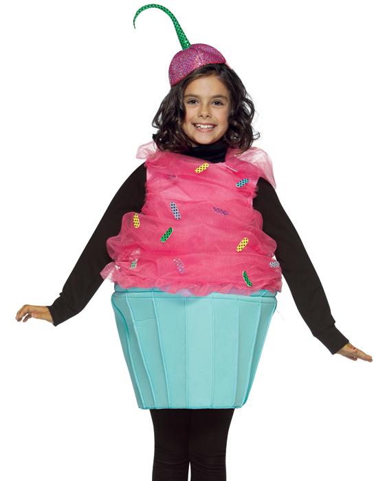 Child Cupcake Costume - 7-10
