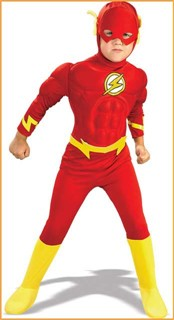 Child Deluxe Muscle Chest The Flash Costume
