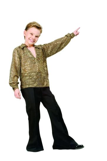 Child Disco Costume (Gold)