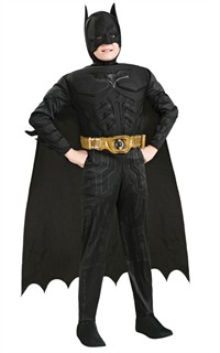 Child Muscle Chest Batman Costume - Dark Knight Rises