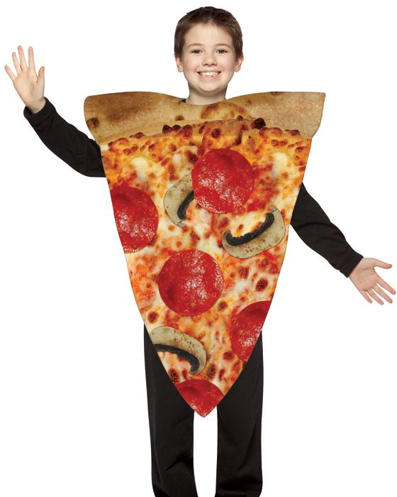 Child Pizza Costume - 7-10