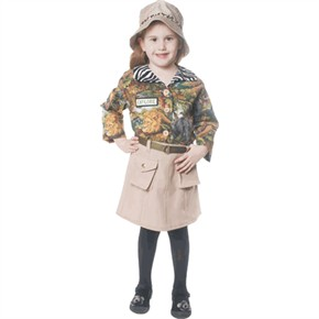 Child Safari Girl Costume