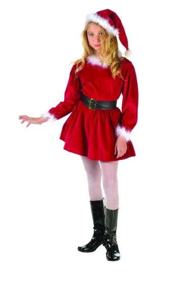 Child Santa Girl Costume  sc 1 st  Fantasy Toyland & Child Santa Girl Costume Child Santa Costumes