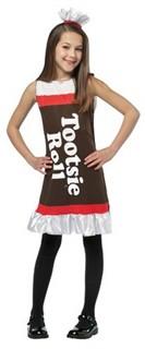 Child Tootsie Roll Costume Dress - 7-10