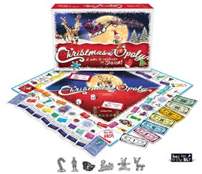 Christmasopoly Board Game