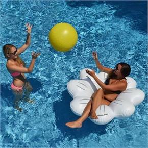 Daisy Pool Float and Beach Ball