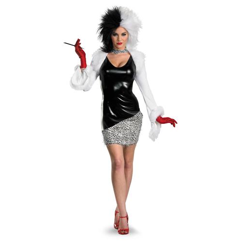 Sexy Cruella Costume
