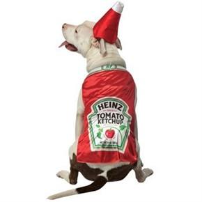 Dog Heinz Ketchup Costume