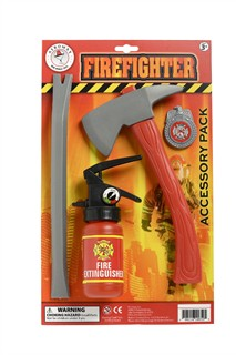 Firefighter Toy Accessory Pack