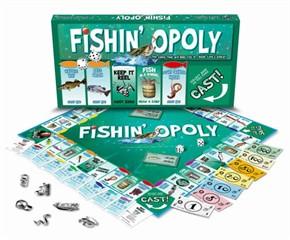 Fishinopoly Board Game
