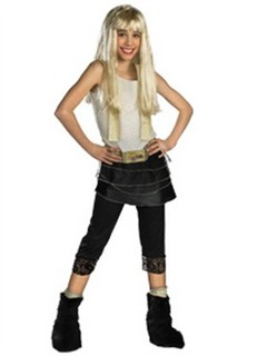 Child Deluxe Hannah Montana Costume