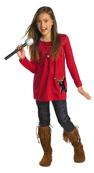 Camp Rock Mitchie Torres Costume - Red