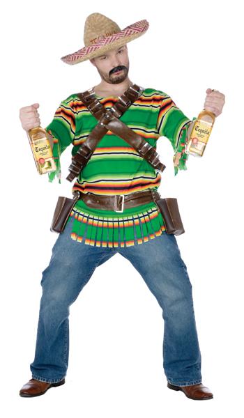 Adult Tequila Pop n Dude Costume