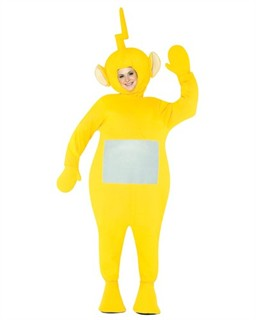Adult Teletubbies Laa Laa Costume - Yellow