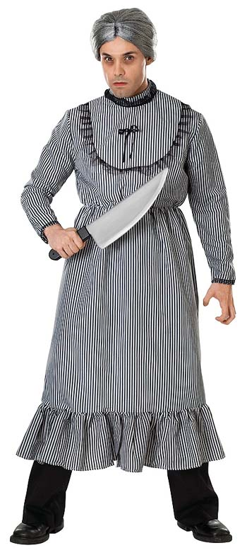 Adult Psycho Mother's Dress Costume