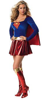 Adult Sexy Supergirl Costume