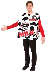 Adult Milk Costume