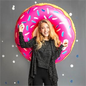 Giant Donut Snow Tube