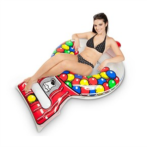 Giant Gumball Machine Pool Float